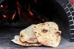 Sesame seed chili flatbread wood fired recipe