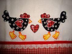 Pintura em tecido, via Flickr.