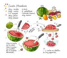 receta de macedonia