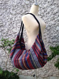 2in1 Backpack & Crossbody Bags Boho Tribal Hobo Aztec Ethnic Hippie Ethnic Styles Hobo Tapestry Hipster Native Beach School laptop Messenger
