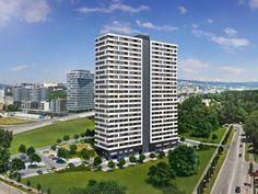 BRATISLAVA | Projects and Construction Updates XXII | 2016 - SkyscraperCity Bratislava, Skyscraper, Multi Story Building, Construction, Projects, Building, Log Projects, Skyscrapers, Blue Prints
