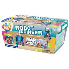 Buy Thames & Kosmos Kids' First Robot Engineer Kit with Storybook Online at johnlewis.com