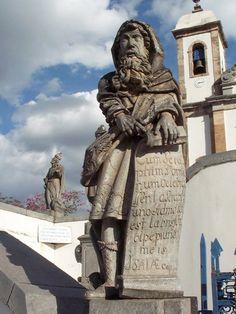 Profeta Isaías de Aleijadinho. Maio de 2004.