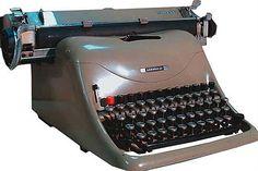 maquina de escrever olivetti - Pesquisa Google usei muito uma desse modelo
