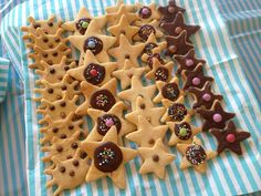Stars and Crabe cookies for under the sea party