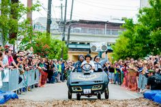 Head to Philadelphia's Kensington neighborhood for a wild celebration of creativity, art and childlike fun during the Kensington Kinetic Sculpture Derby and Festival on May 21, 2016. (Photo by J. Fusco for Visit Philadelphia)