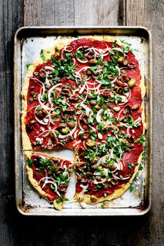 Gluten Free Vegan Pizza Recipe | Yummy Beet