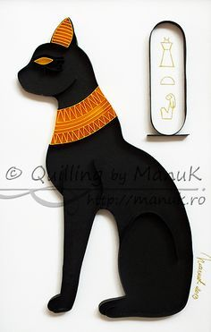 Quilled Egyptian Cat