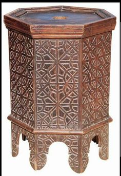 Carved table.Turkey