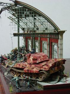 Scale Models & Diorama's by Alexander ter Meulen