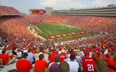 Wish I could have been here tonight: Camp Randall Stadium in Madison, WI.