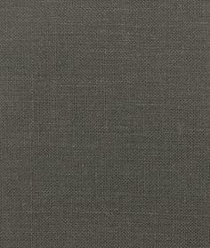 Shop  Smoke Gray Irish Linen Fabric at onlinefabricstore.net for $17.95/ Yard. Best Price & Service.