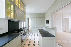 Elements of Style Blog   It's All In the Details…   http://www.elementsofstyleblog.com SLIDING DOORS THAT SEPARATE DINING FROM KITCHEN