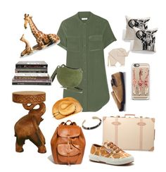 A fashion look from August 2015 featuring silk dress, canvas shoes and flat espadrilles. Fashion Sets, Fashion Women, Women's Fashion, Trotter, Indiana Jones, Emilio Pucci, Superga, Casetify, Polyvore Fashion