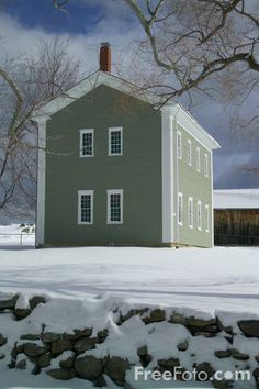 Canterbury Shaker Village, New Hampshire