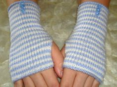 Alice In Wonderland Engagement Fingerless Gloves