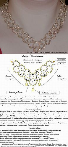 Russian Facebook page with mostly jewelry patterns which can be used for edgings......