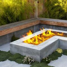 Landscape Outdoor Gas Fire Pits Design, Pictures, Remodel, Decor and Ideas