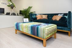 Our King's Road showroom; a light & relaxed atmosphere. Showroom, Couch, Interiors, London, Furniture, Home Decor, Decoration Home, Room Decor, Sofas
