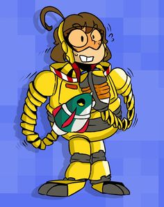 Mechanica from ARMS. She is my fav.