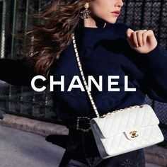 "CHANEL on Instagram: ""Functional, imagined for everyday life, the 11.12 bag features an adjustable metal chain interlaced with a leather ribbon, added by hand.…"" Chanel Official Website, New Pins, Metal Chain, High Fashion, Chanel Fashion, Shoulder Bag, Handbags, Photos, Luxury"