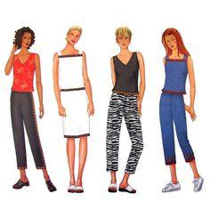 Womens Top Skirt & Pants Pattern Butterick by finickypatternshop, $9.00