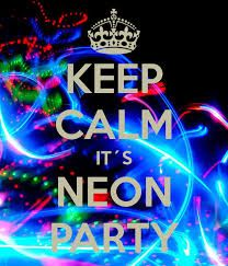 neon party ideas - Google Search