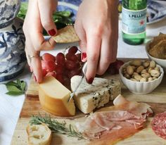 sparkling holiday feast with san pellegrino