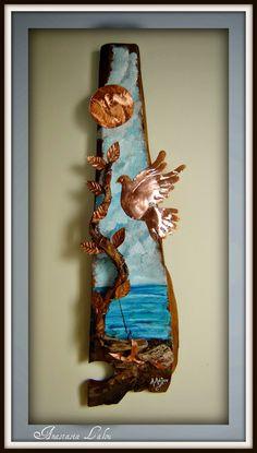 Η χαρά της δημιουργίας: Χαλκός και θαλασσόξυλα   Copper and driftwood