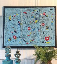 Abstract mobile painting by tshumswork on Etsy, $175.00