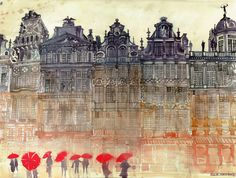 Charming Watercolor Paintings Of Famous Landmarks And Locations - DesignTAXI.com