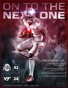 On to the next one! @markpantoni @CoachZachSmith @BraxtonMiller5 #GoBucks #ReturnOfTheReal #SammySilvDesigns