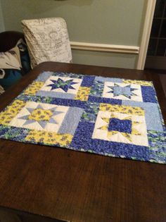 Quilt for Sale Wall/Table Art Hand Made by MargosQuiltsNFabric