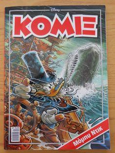 DISNEY GREEK COMIC - KOMIX  ISSUE # 1 - 2014