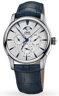 Oris Watch Artelier Complication Leather #basel-15 #bezel-fixed #bracelet-strap-leather #brand-oris #case-material-steel #case-width-40-5mm #date-yes #day-yes #delivery-timescale-4-7-days #dial-colour-silver #gender-mens #luxury #moon-phase-yes #movement-automatic #new-product-yes #official-stockist-for-oris-watches #packaging-oris-watch-packaging #style-dress #subcat-artelier #supplier-model-no-01-781-7703-4031-07-5-21-75fc #warranty-oris-official-2-year-guarantee #water-resistant-50m