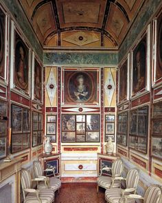 Looks like a photo or print gallery in the Pompeiian style..