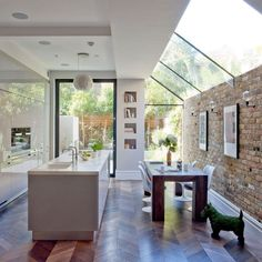 Kitchen Living Room Reinvent your home with a light and bright glazed extension - Think extensions are only about maximising space? Think again! Increasing light with a glazed extension is the latest way to improve our homes