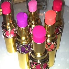 YSL lipsticks !!!!!!!!!!! the best