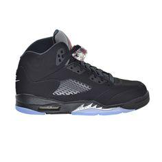 ed63247f03 Air Jordan 5 Retro, Black Fire, Big Kids, Black Shoes, Air Jordans, Nike  Air, Sneakers Nike, Metallic, Nike Tennis