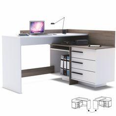 ROHOVY PC STOLIK TALE 484879 UNI TM.DUB/BIELA