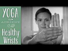 Yoga para relajar las muñecas