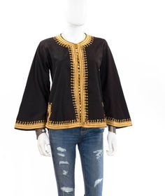 A personal favorite from my Etsy shop https://www.etsy.com/listing/244952737/vintage-boho-hippie-indian-jacket