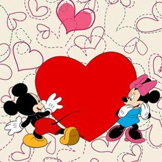 Come spend some time with me baby girl Mickey And Minnie Love, Mickey Mouse And Friends, Mickey Minnie Mouse, Wallpaper Iphone Disney, Cute Disney Wallpaper, Disney Love, Disney Magic, Miki Mouse, Benfica Wallpaper