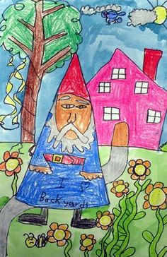"""From exhibit """"The Traveling Gnome""""  by Luke3316"""