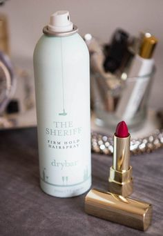 Use hairspray to remove a lipstick stain. Spray the fabric (make sure it's not dry-clean only) with hairspray, and let it sit for a few minutes. Dab the stain, and then toss it in the washer. Genius Hacks for Fixing Ruined Clothes] Easy Clothing, Clothing Hacks, Removing Lipstick Stains, Remove Stains, Red Wine Stains, Stain On Clothes, Diy Clothes, Tips & Tricks, Easy Tricks