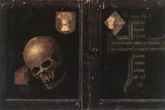 Braque Family Triptych - closed by Rogier van der Weyden #art