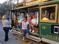 Riding the Cable Cars in SF