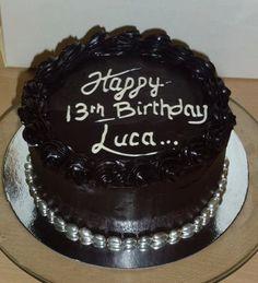 Chocolate Mud Cake, Birthday Cake, Noosa Sunshine Coast Cake Shop, Made to Order with Deilvery