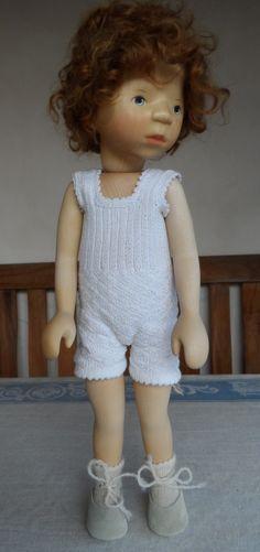 Elisabeth Pongratz Puppe, rothaarig (Berlin) - Puppen -