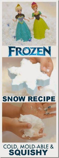 Disney Frozen Snow Recipe for Play